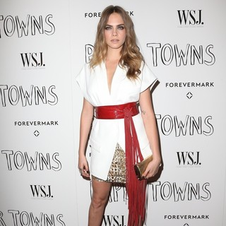 Cara Delevingne in WSJ. Magazine and Forevermark Host a Special Los Angeles Screening of Paper Towns