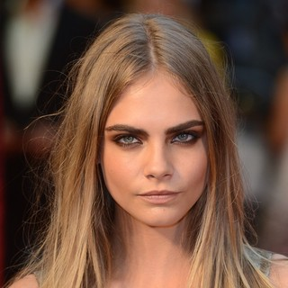 Cara Delevingne in The Premiere of Anna Karenina