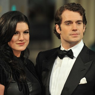 Henry Cavill in The 2013 EE British Academy Film Awards - Arrivals - carano-cavill-2013-ee-british-academy-film-awards-02