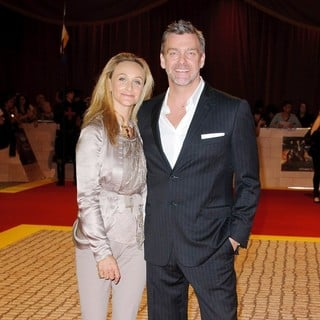 Elisabetta Cariacca, Ray Stevenson in The Three Musketeers Film Premiere - Arrivals