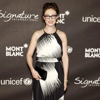 Carice van Houten in Montblanc Signature International Charity Gala to Benefit UNICEF