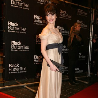 Carice van Houten in Premiere of Black Butterflies