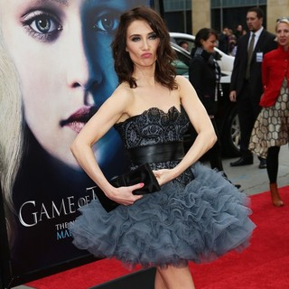 Carice van Houten in Premiere of The Third Season of HBO's Series Game of Thrones - Arrivals - carice-van-houten-premiere-game-of-thrones-season-3-05