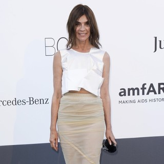 Carine Roitfeld in 66th Cannes Film Festival - amfAR's 20th Annual Cinema Against AIDS - Arrivals