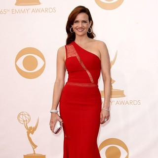 Carla Gugino in 65th Annual Primetime Emmy Awards - Arrivals