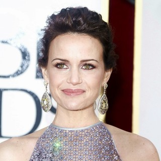 Carla Gugino in 70th Annual Golden Globe Awards - Arrivals
