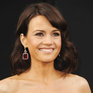 Carla Gugino in Los Angeles Premiere of San Andreas