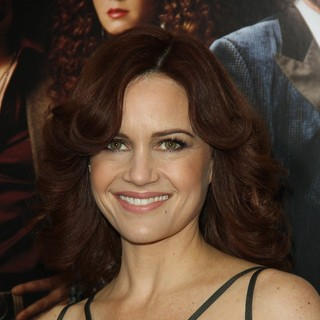 Carla Gugino in American Hustle New York Premiere