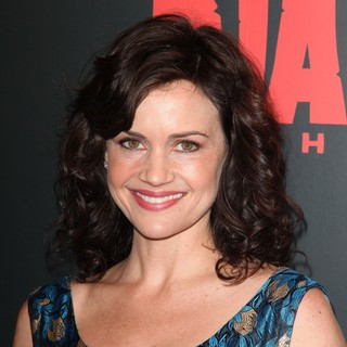 Carla Gugino in The Premiere of Django Unchained