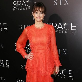Carla Gugino-Premiere of STX Entertainment's The Space Between Us