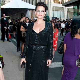Carla Gugino in The 2011 CFDA Fashion Awards