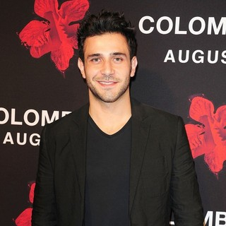 Carlos Fierro in The Colombiana Miami Red Carpet Screening
