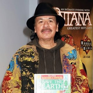 Carlos Santana in Carlos Santana Makes A Children's Book Donation to Spread The Word Nevada