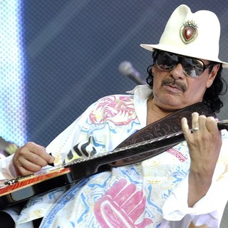 Carlos Santana in Les Vieilles Charrues 2013 - Day 4 - Performances
