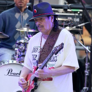 Carlos Santana in The Times Square New Year's Eve Countdown