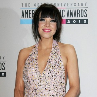 Carly Rae Jepsen in The 40th Anniversary American Music Awards - Press Room