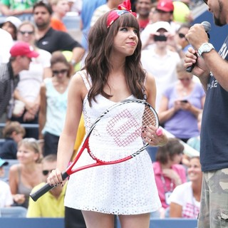 Carly Rae Jepsen in Arthur Ashe Kids Day 2012