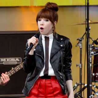 Carly Rae Jepsen - Carly Rae Jepsen Performs Live as Part of Good Morning America's 2013 Summer Concert Series