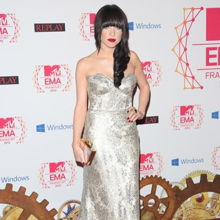 Carly Rae Jepsen in The MTV EMA's 2012 - Arrivals