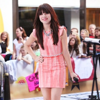 Carly Rae Jepsen in Carly Rae Jepsen Performing Live During The Today Show Summer Concert Series