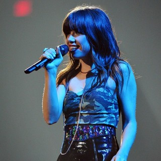 Carly Rae Jepsen in Carly Rae Jepsen Performs Live in Concert on The Believe Tour