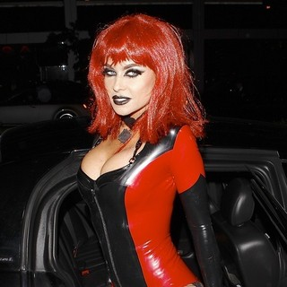 Carmen Electra in Celebrities Attend Bootsy Bellows' Halloween Party