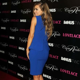 Carmen Electra in Lovelace Los Angeles Premiere