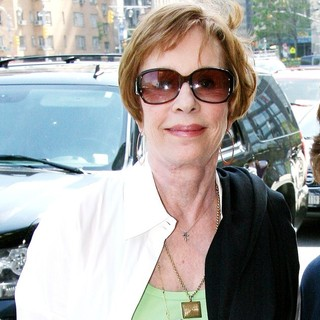 Carol Burnett in Carol Burnett Arriving Outside Her Manhattan Hotel