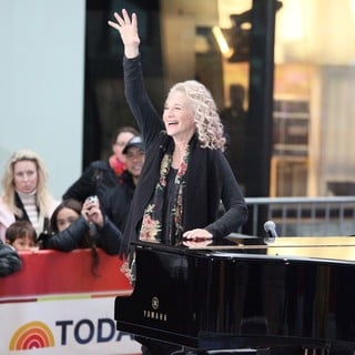 Carole King in Carole King Performs on Today as Part of The Toyota Concert Series