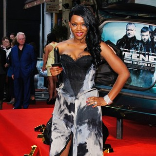 Caroline Chikezie in The Sweeney UK Film Premiere - Arrivals