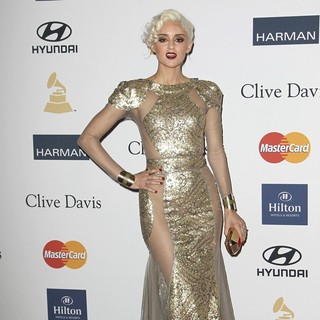 Caroline D'Amore in Clive Davis and The Recording Academy's 2013 Pre-Grammy Gala and Salute to Industry Icons