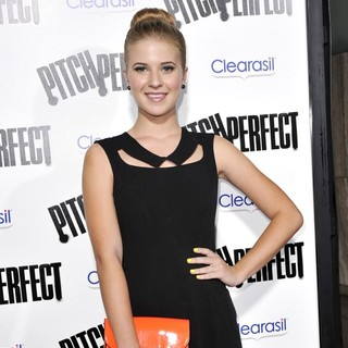 Caroline Sunshine in Los Angeles Premiere of Pitch Perfect