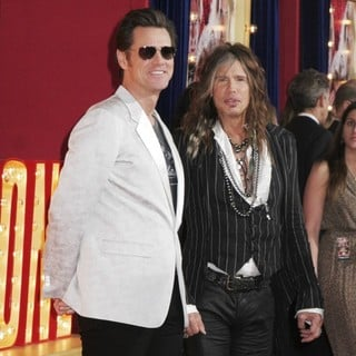 Jim Carrey, Steven Tyler in Los Angeles Premiere of The Incredible Burt Wonderstone
