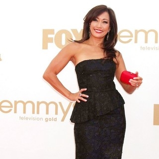 Carrie Ann Inaba in The 63rd Primetime Emmy Awards - Arrivals