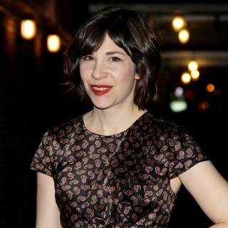 Carrie Brownstein in The Late Show with David Letterman - Arrivals