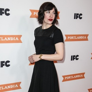 Carrie Brownstein in IFC's Portlandia Season 3 New York Premiere