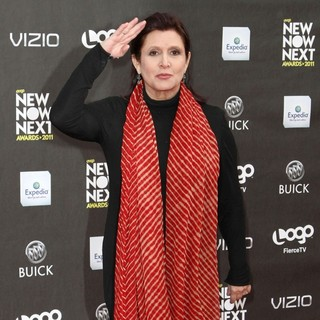 Carrie Fisher in Logo's 2011 NewNowNext Awards - Arrivals - carrie-fisher-2011-newnownext-awards-02