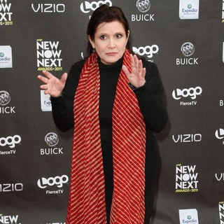 Carrie Fisher in Logo's 2011 NewNowNext Awards - Arrivals - carrie-fisher-2011-newnownext-awards-03