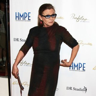 Carrie Fisher in Debbie Reynolds - The Auction Finale VIP Reception