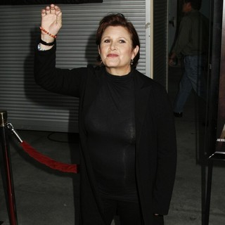 Carrie Fisher in Los Angeles Premiere of Sorority Row - carrie-fisher-premiere-sorority-row-06