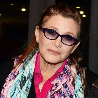 Carrie Fisher in The Saturday Night Show - Arrivals
