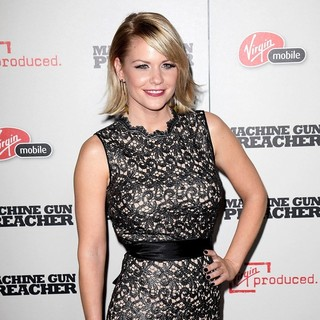 Carrie Keagan in Machine Gun Preacher Los Angeles Premiere