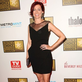 Carrie Preston in 2012 Critics' Choice TV Awards - Arrivals