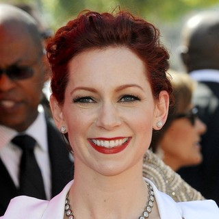 Carrie Preston in 2013 Primetime Creative Arts Emmy Awards - Arrivals