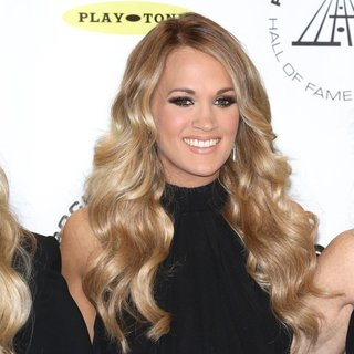 Carrie Underwood in 29th Annual Rock and Roll Hall of Fame Induction Ceremony