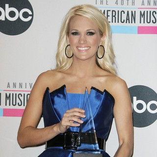 Carrie Underwood in The 40th Anniversary American Music Awards - Press Room