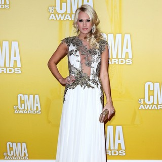 Carrie Underwood in 46th Annual CMA Awards