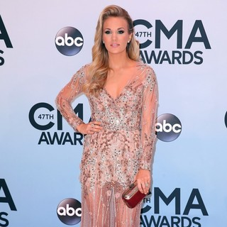 Carrie Underwood in 47th Annual CMA Awards - Red Carpet