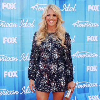 Carrie Underwood in American Idol Season 11 Grand Finale Show - Arrivals