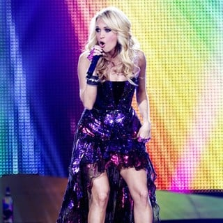 Carrie Underwood in Carrie Underwood Performing on Her Blown Away Tour